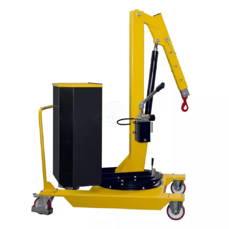 GRUGR05 - Gru manuale girevole idraulica zavorrata ...