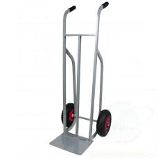 Carrello in alluminio con ruote pneumatiche