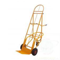 """""""Bicicletta"""" portacasse con altezza regolabile ruote pneumatiche"""