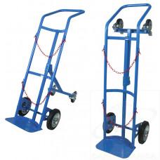 Portabombole monoposto trasformabile ruote con freno