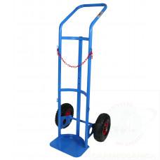 Portabombola monoposto ruote pneumatiche 40/50