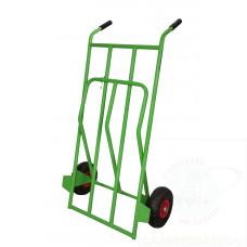 Portasacchi con pedana ribaltabile ruote pneumatiche