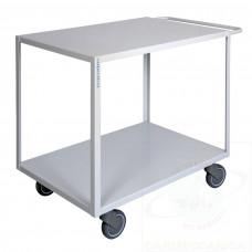 Maxi carrello ufficio a due piani alta silenziosità