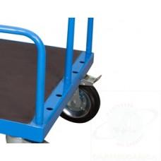 Sponda h 600 per Porta Pannelli per carrello da mm 1200