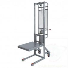 Sollevatore in acciaio INOX AISI 304 - sollevamento con verricello