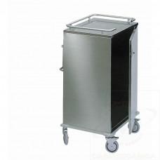 Carrello distribuzione biancheria in acciaio INOX AISI 304