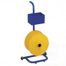 Portabobine smontabile per reggia plastica con ruote
