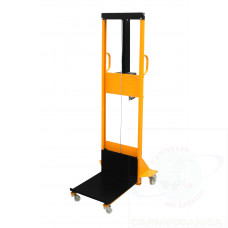 Mini hand winch  stacker high lift